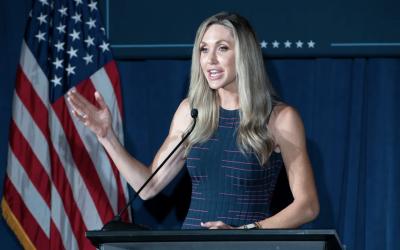 Lara Trump appeals to evangelical voters to support Donald Trump in Pensacola stop