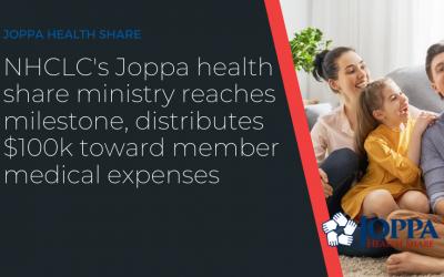 NHCLC's Joppa Health share ministry reaches milestone, Distributes $100k toward Member medical expenses