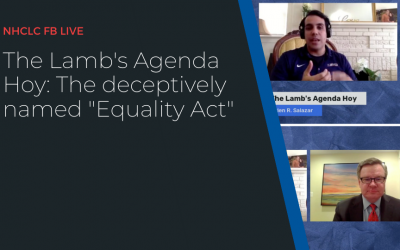 """The Lamb's Agenda Hoy: The deceptively named """"Equality Act"""""""