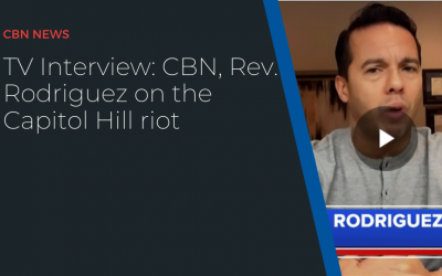 TV Interview: CBN, Rev. Rodriguez on the Capitol Hill riot