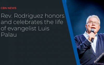 Rev. Rodriguez honors and celebrates the life of evangelist Luis Palau