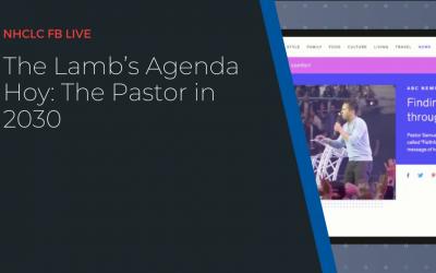 The Lamb's Agenda Hoy: The Pastor in 2030
