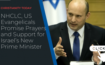 NHCLC, US Evangelicals promise prayers and support for Israel's new Prime Minister