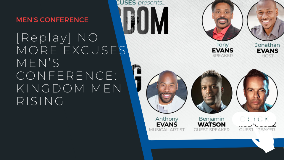 """Rev. Rodriguez ministers at Kingdom Men Conference, """"No More Excuses"""""""