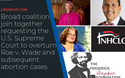 Fighting for the unborn: NHCLC, Broad coalition join together requesting the U.S. Supreme Court to overturn Roe v. Wade and  subsequent abortion cases
