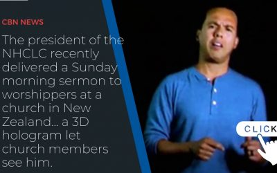 California Pastor Using 'Holy Hologram' Delivers Sunday Sermon to Church in New Zealand