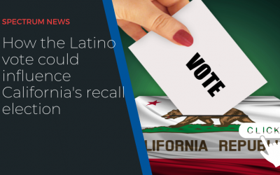 How the Latino vote could influence California's recall election